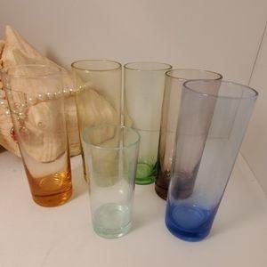 Vtg Depression Shot Glasses/Propagation Vases